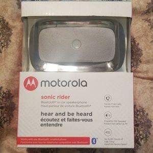 Motorola sonic rider